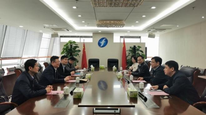 中央广播电视总台福建总站召集人刘涛到访集团