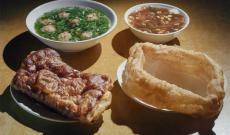 《早餐中国》热乎乎 一口香 山西太原丸子汤