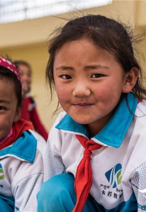 遇见西藏 遇见孩子