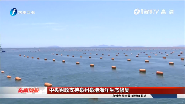 中央财政支持泉州泉港海洋生态修复